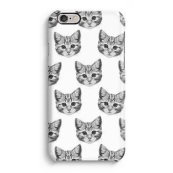 iPhone 6 / 6S pełną głowiczki (błyszcząca) - kotek