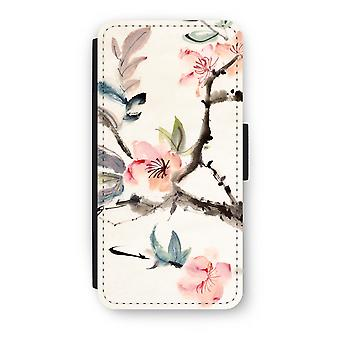 iPhone 6/6S Plus Flip Case - Japenese flowers