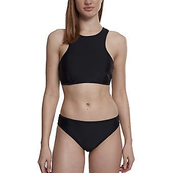 Urban Classics Ladies - SURFER Swimwear Bikini schwarz