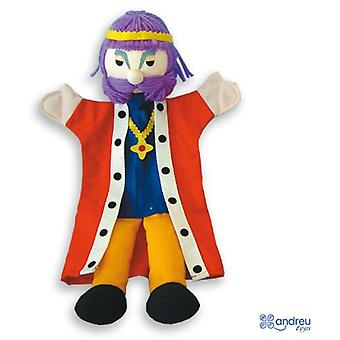 Andreu Toys Hand Puppets - Tales B - King