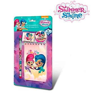 Import Shimmer & Shine in September stationery 4 Rooms 24x14