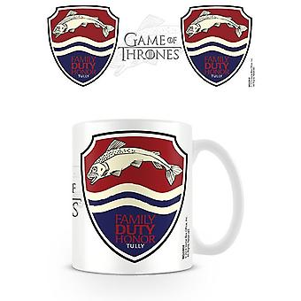Game of Thrones (Tully) ceramic mug