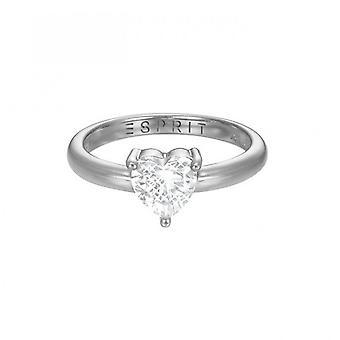 ESPRIT women's ring silver JW50223 cubic zirconia ESRG92850A1