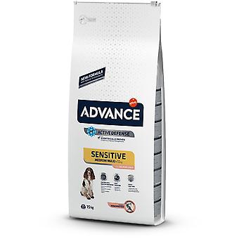 Advance Dog Sensitive Arroz y Salmon (Honden , Voeding , Droogvoer)