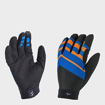 New Sealskinz Dragon Eye MTB Ultra Lightweight Flexible Gloves Blue