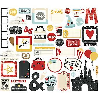 Say Cheese III Bits & Pieces Die-Cuts 53/Pkg