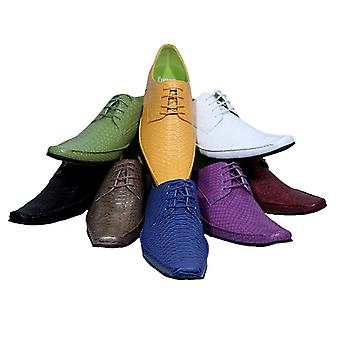Elvis Spitzenschuh Dandyschuh shoe to suit 8 colors 6 sizes DELUXE