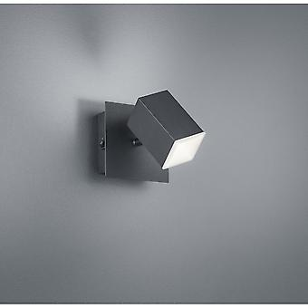 Trio Lighting Lagos Modern Black Matt Metal Spot