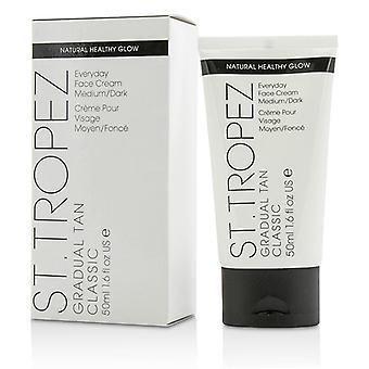 St. Tropez Gradual Tan Classic Everyday Face Cream - # Medium/ Dark - 50ml/1.6oz