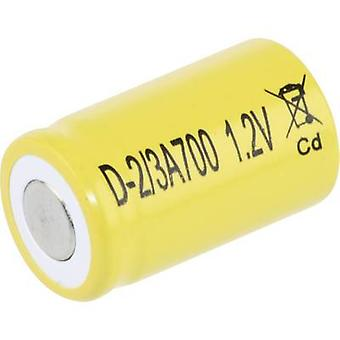 Mexcel D-2/3A700 Non-standard battery (rechargeable) 2/3 A Flat top NiCd 1.2 V 700 mAh
