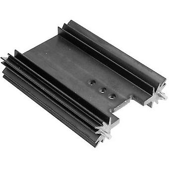 Fin heat sink 6.2 C/W (L x W x H) 50.8 x 45 x 11.94 mm TO 220, TOP 3, SOT 32 ASSMANN WSW V7466Y