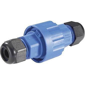 131850 kabel-forbindelse ærme IP68 blå, sort (Ø x L) 40,5 mm x 100 mm