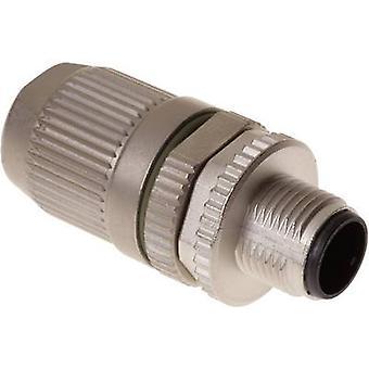 Harting 21 03 812 1405 evetuele connector M12 stekker, rechte nr. van spelden (RJ): 4-1 PC('s)