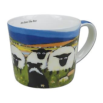 Thomas Joseph Single Mug, Are Ewe The Boss