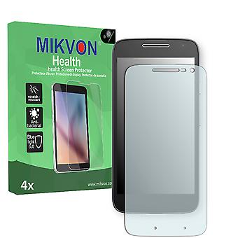 Lenovo Moto G4 Play Screen Protector - Mikvon Health (Retail Package with accessories)