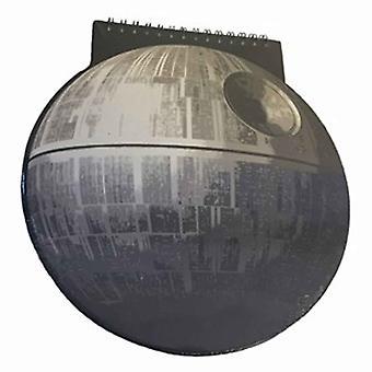 حرب النجوم مفكرة الموت ستار على شكل A5 أسود الرسمية الجديدة