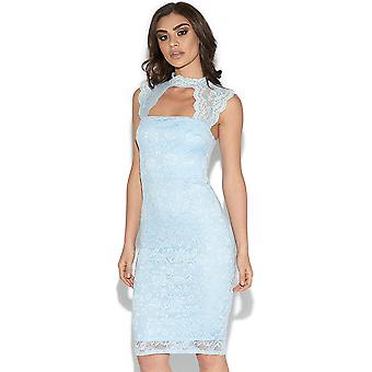 Cut Out Lace Detail Bodycon Dress