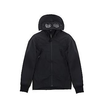 C.P. Company Undersixteen C.P. Company Undersixteen Navy Soft Shell Goggle Jacket