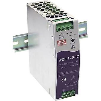 Mean Well WDR-120-24 Rail mounted PSU (DIN) 24 Vdc 5 A 120 W 1 x