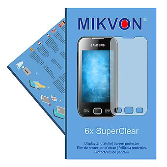Samsung Wave 533 (GT-S5330) screen protector- Mikvon films SuperClear