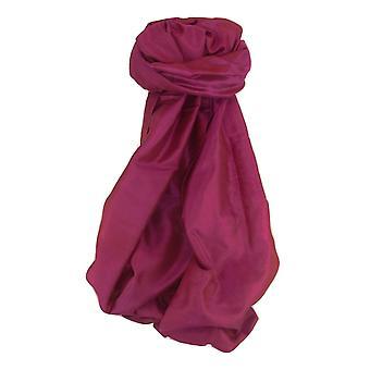 Варанаси Шелковый шарф наследия Длиннорейсовая Mayur 4 пашмины & шелка