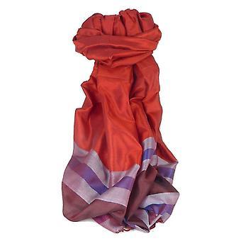 Варанаси границы премьер шелковые длинный шарф наследия Гупта 156, пашмины & шелка