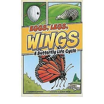 Ovos - pernas - asas - A borboleta de ciclo de vida por Shannon Knudsen - 9781