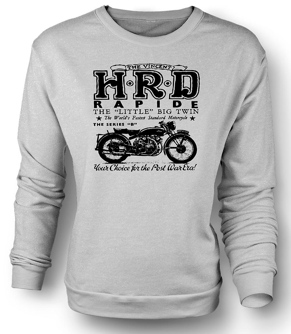 Mens Sweatshirt Vincent Hrd Rapide - Classic Bike
