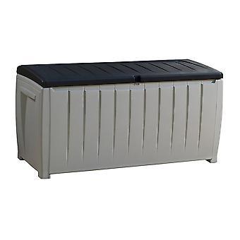 Keter Novel opbergbox 125x55xH61 cm - grijs