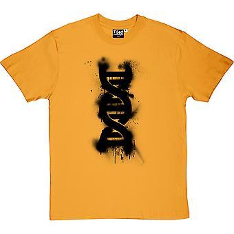 Doppelhelix Graffiti Herren T-Shirt