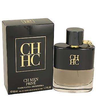 Prive de CH de Carolina Herrera Eau De Toilette Spray 1.7 oz/50 ml (hombres)