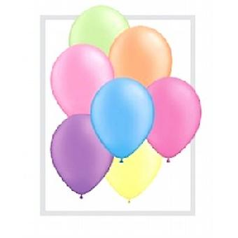 "Balloons 10"" Bright Neon Assorted Colours"