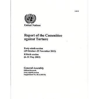 Rapport du Comité contre la Torture (documents officiels)