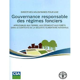 Gouvernance responsable des regimes fonciers
