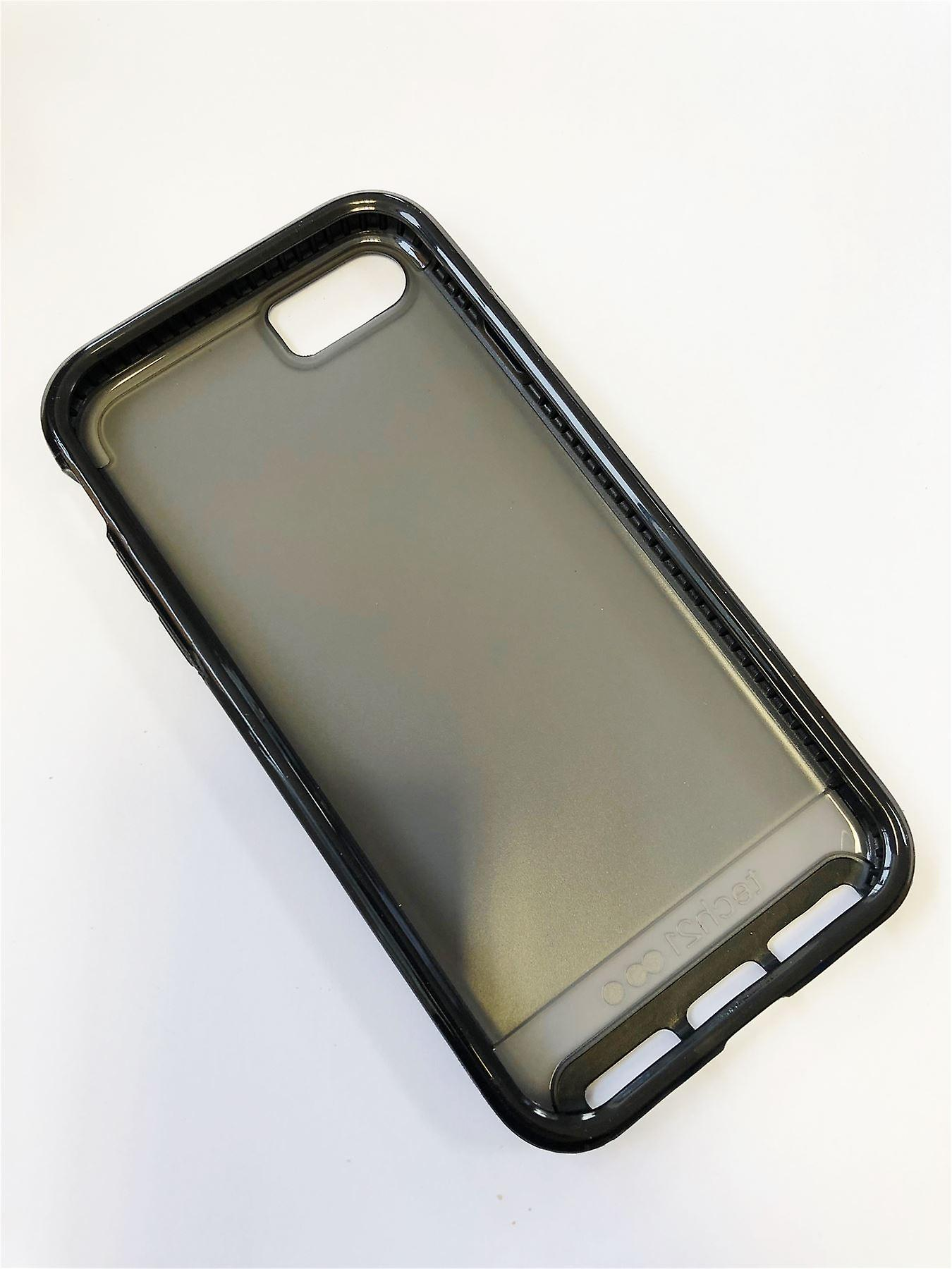 buy popular 20bd6 f7f87 Genuine Tech21 Evo Elite Case Impact Cover for iPhone 7 iPhone 8 - Polished  Black