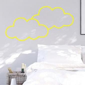 Nuages ​​Neon Wall Sticker