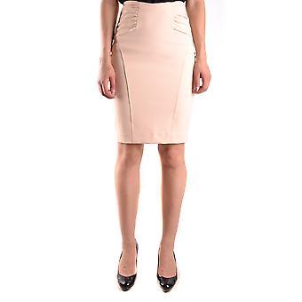 Elisabetta Franchi Pink Nylon Skirt