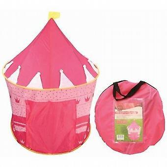 Pretend & Play Pop Up Tent - Pink Fairy Princes Castle - (TN105)
