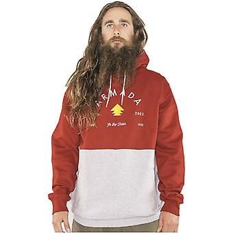Armada Red Chilli Multiply Hoody