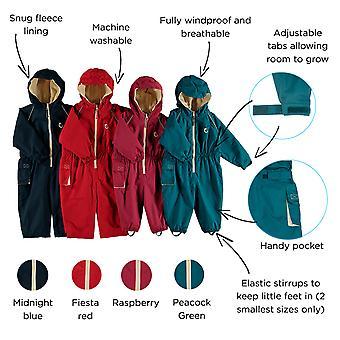 Hippychick waterdichte vacht beklede allemaal In één pak, Splashsuit, Snowsuit voor Kids – essentiële Outdoor kleding