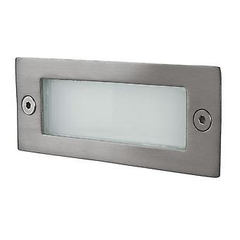Firstlight - LED 12 Light Wall & Step Light Stainless Steel IP44 - 8101ST