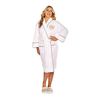 Fantastic Beasts Fwooper Ladies Fleece Dressing Gown  - ONE SIZE