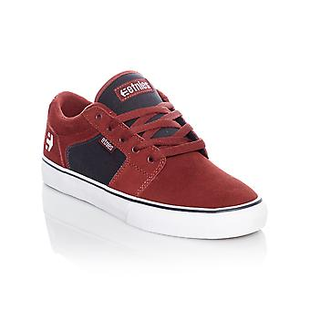 Etnies Red-Navy Barge LS Shoe