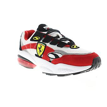 Puma Scuderia Ferrari Cell Venom Mens White Motorsport Low Top Sneakers Shoes