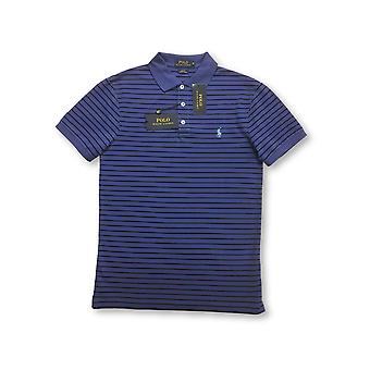 Ralph Lauren Polo slim fit polo in blauw/Navy St