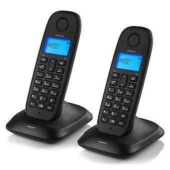 TopCom Topcom Te5732 Cordless Landline Phone (Pack Of 2)