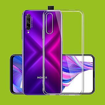 Für Huawei Honor 9X / 9X Pro Silikoncase TPU Schutz Transparent Tasche Hülle Cover Etui Zubehör Neu