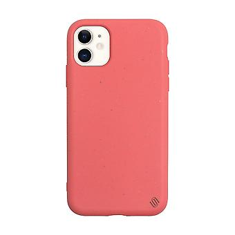 Eco Friendly iPhone 11 Case Eco Back Shell/Coral Lychee