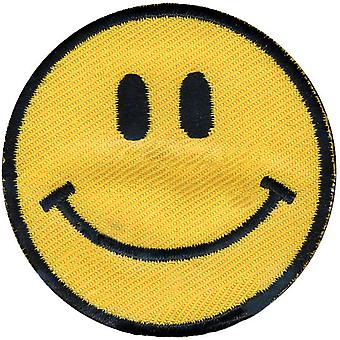 Wrights Iron On Appliques Yellow Happy Face 1 7 8
