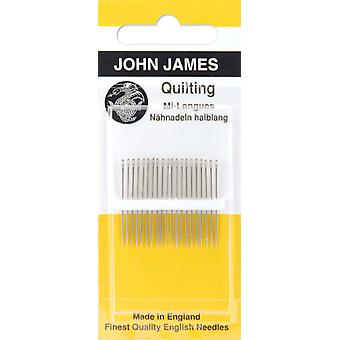 Quilting Betweens Hand Needles Size 12 12 Pkg Jj120 12